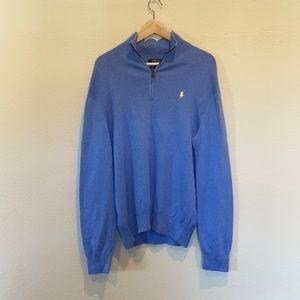 Polo Ralph Lauren quarter zip sweater Baby blue